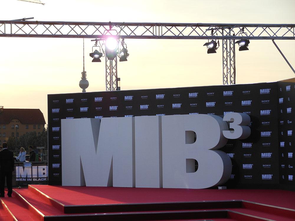 Men in Black 3 Premiere, STL Berlin, Beleuchtung, Veranstaltungsservice